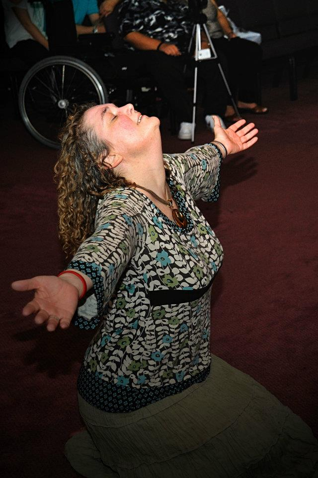 Me worshiping the Lord